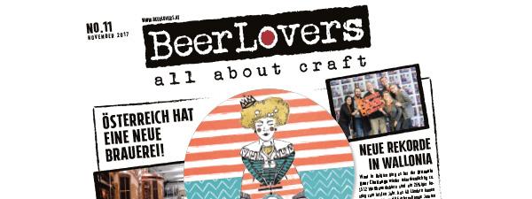 27.11.2017 - BeerLovers Craftbeer Zeitung Ausgabe 11