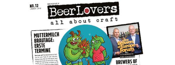 15.01.2018 - BeerLovers Craftbeer Zeitung No.12
