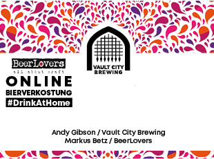 29.04.2021 - #DrinkAtHome Vault City Brewing
