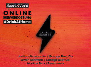 22.04.2021 - #DrinkAtHome Garage Beer Co.